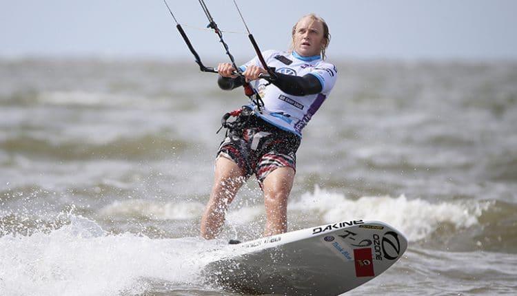 Aaron Hadlow feiert ersten Sieg am Ordinger Strand