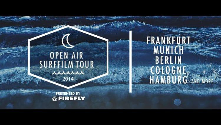Open Air Surffilm Tour 2014