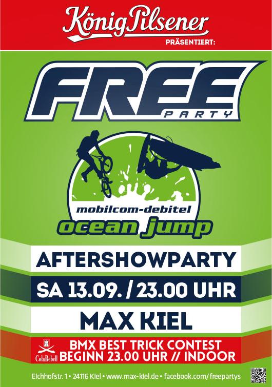 oceanjump party max 2014