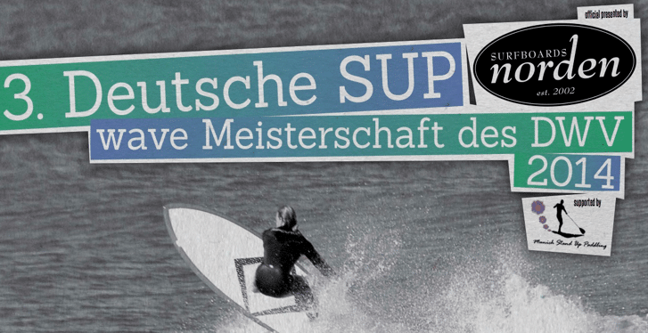 3.  Deutsche  SUP Wave Meisterschaft 2014 in Klitmöller