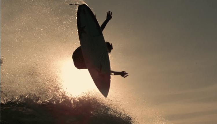 Surf Video mit 1000 Bildern/Sekunde