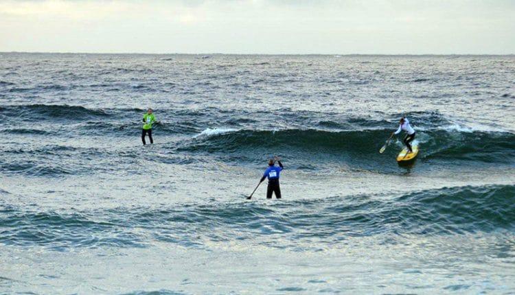 Andy Wirtz und Noelani Sach sind Deutsche SUP Wave Meister 2014