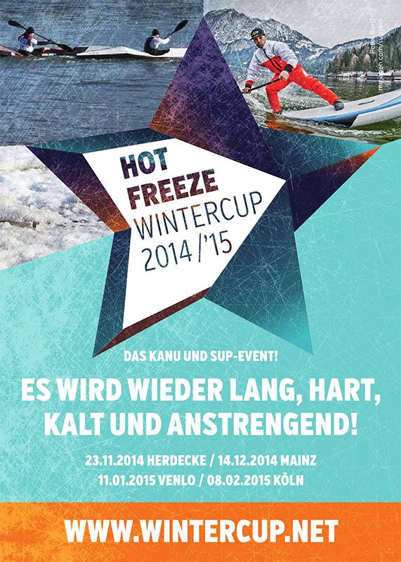 hot freeze sup wintercup plakat