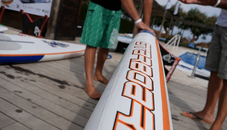 Starboard Astro Racer 2015 im Video Review