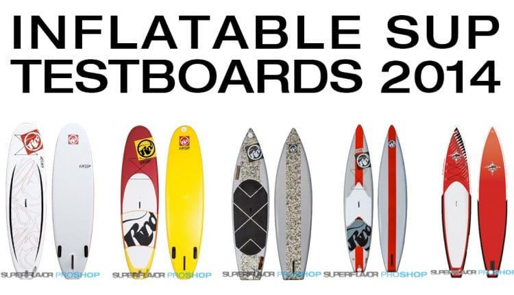 Günstige Inflatable SUP Testboards bei Superflavor