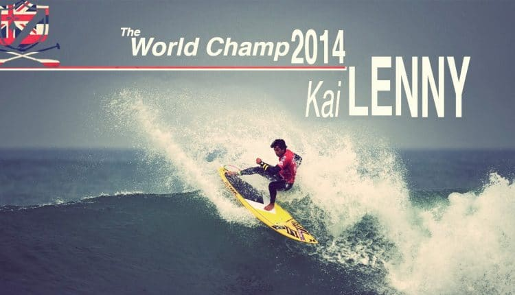 Kai Lenny ist SUP Wave World Champion 2014
