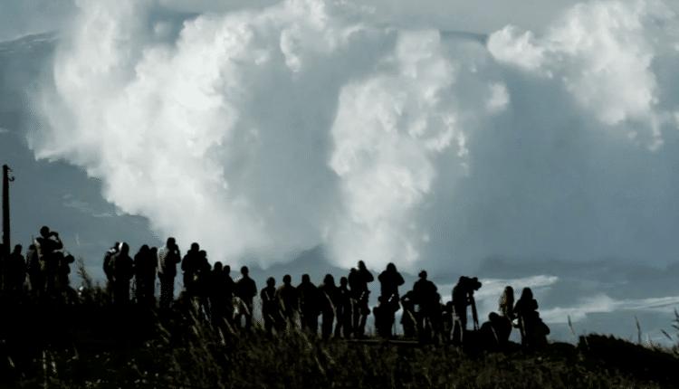 XXL-Surf in Nazare, Portugal 2014