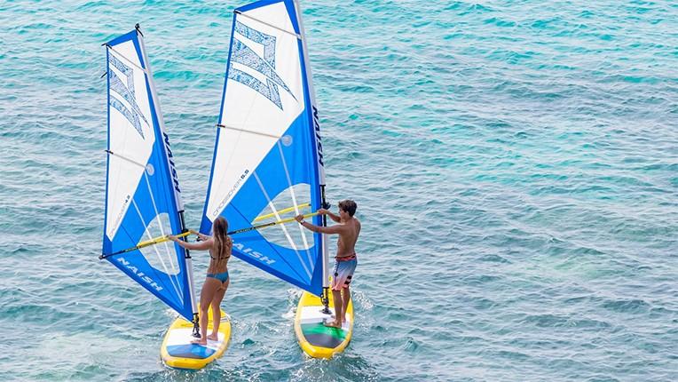 naish crossover rig sup windsurf