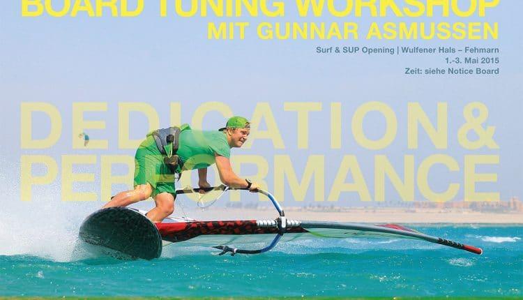 Gunnar Asmussen gibt Boardtuning Workshop