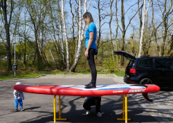 fanatic fly air premium touring 11 sup test