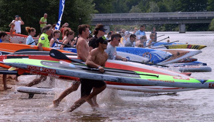 The Lost Mills SUP Race wird zum wichtigsten Rennen im deutschsprachigen Raum