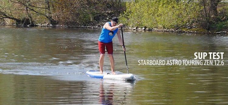 Starboard Astro Touring Zen 12.6  im SUP Test