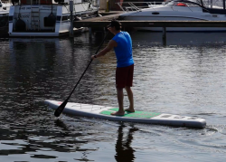 gts rs 12 6 inflatable sup test 02 250x179 - GTS RS 12.6 im SUP Test