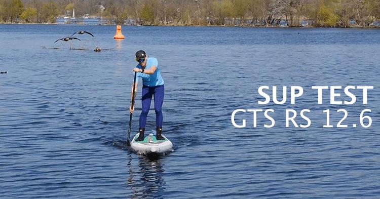 GTS RS 12.6 im SUP Test