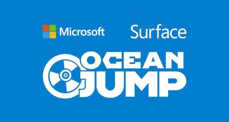 Microsoft Surface Hauptsponsor der Ocean Jump Weltmeisterschaft 2015