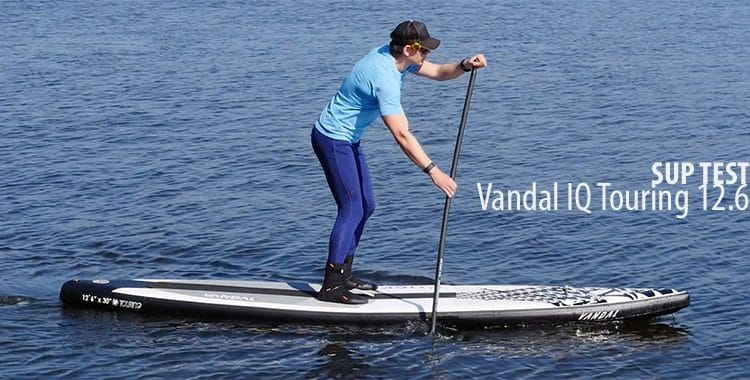 Vandal IQ Touring 12.6  im SUP Test