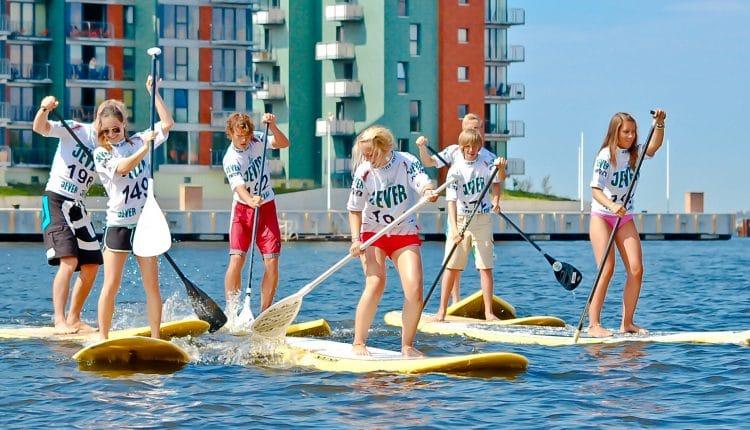 SUP Sport Extrem bei der Hanse Sail 2015