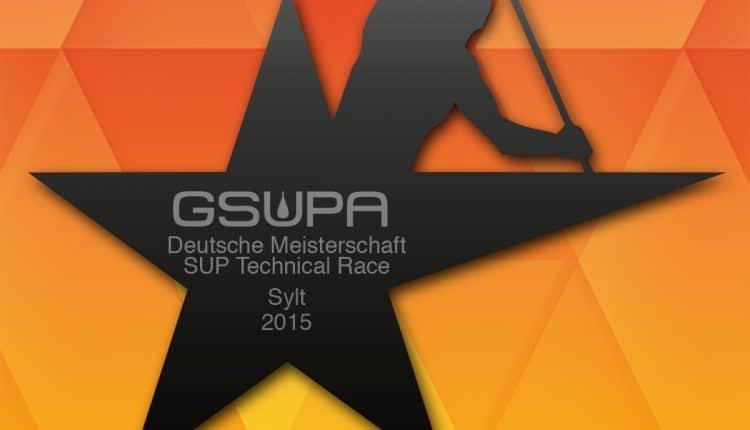 Deutsche Meisterschaft im SUP Technical Race auf Sylt 2015