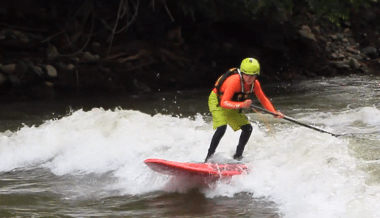 Wildwasser SUP DM in Lofer