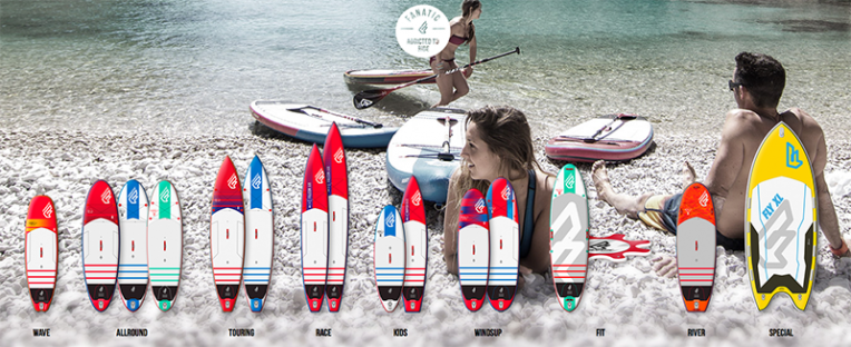 fanatic sup inflatable 2016