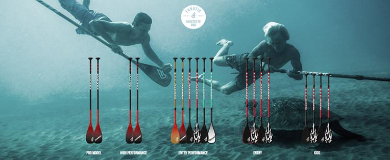 fanatic sup paddle 2016