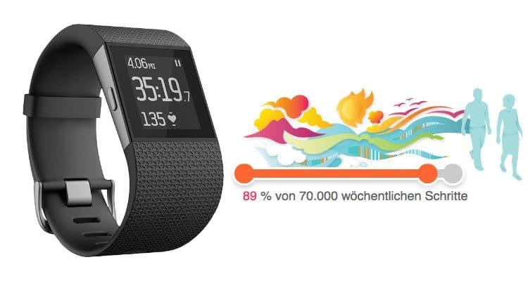 Fitbit Surge – die smarte Fitness Uhr im Superflavor Test