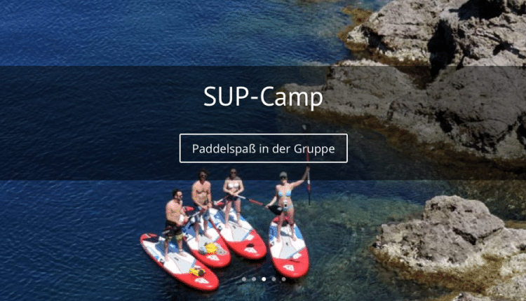 SUP und YOGA Retreat mit Superflavor Rabatt