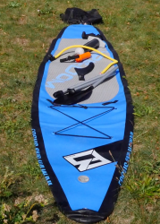 focus sup freedom inflatable sup test superflavor gleiten tv 02 179x250 - Focus SUP Freedom 12.6 im SUP Test