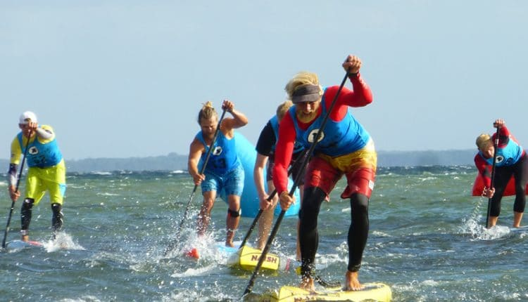 Hochspannung beim Finale der Killerfish German SUP Challenge 2015 in Pelzerhaken
