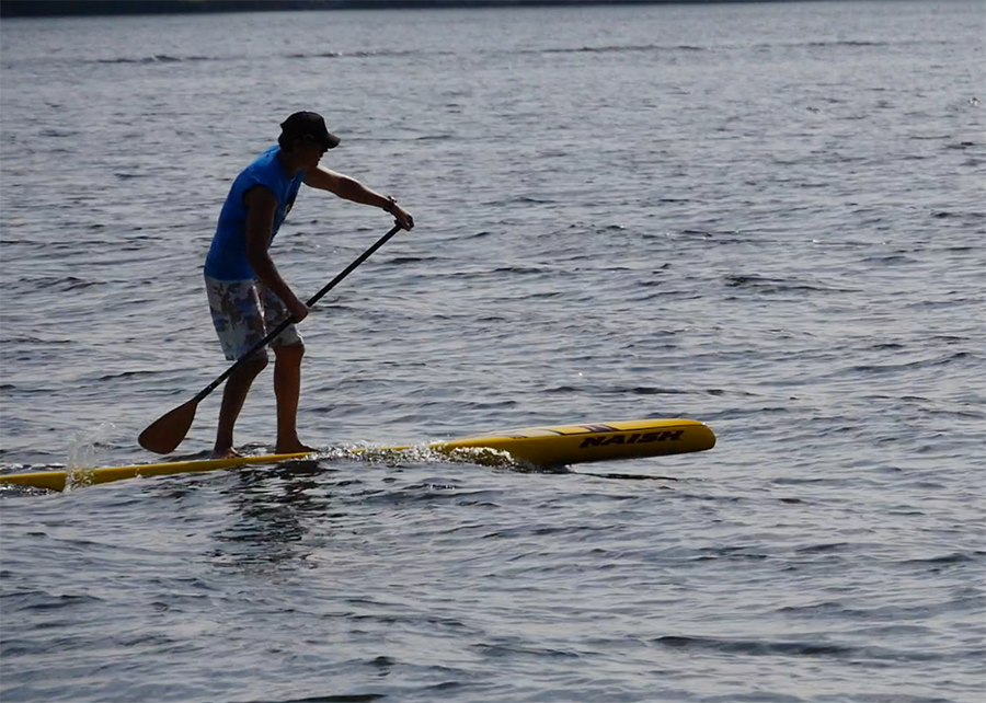 naish glide 12 sup test touring superflavor stand up padle gleiten-tv 07