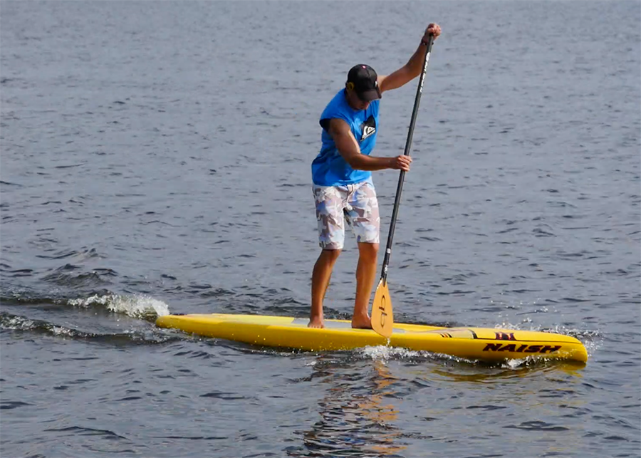 naish glide 12 sup test touring superflavor stand up padle gleiten-tv 10