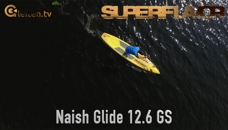 naish glide 12 sup test touring superflavor stand up padle gleiten-tv 16