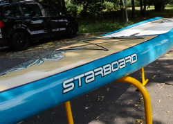 starboard pocket touring sup baord test superflavor gleiten tv 04 250x179 - Starboard Pocket Touring 10.6 im SUP Test