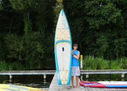starboard pocket touring sup baord test superflavor gleiten tv 06 250x179 - Starboard Pocket Touring 10.6 im SUP Test