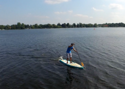 starboard pocket touring sup baord test superflavor gleiten tv 11 250x178 - Starboard Pocket Touring 10.6 im SUP Test