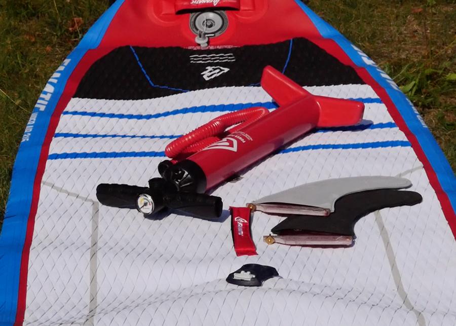 fanatic viper air wind sup sup board test superflavor gleiten-tv 05