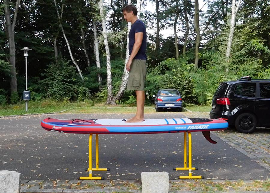 fanatic viper air wind sup sup board test superflavor gleiten-tv 08