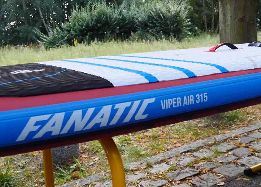 fanatic viper air wind sup sup board test superflavor gleiten-tv 09