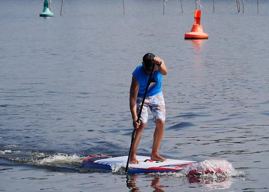 fanatic viper air wind sup sup board test superflavor gleiten-tv 19