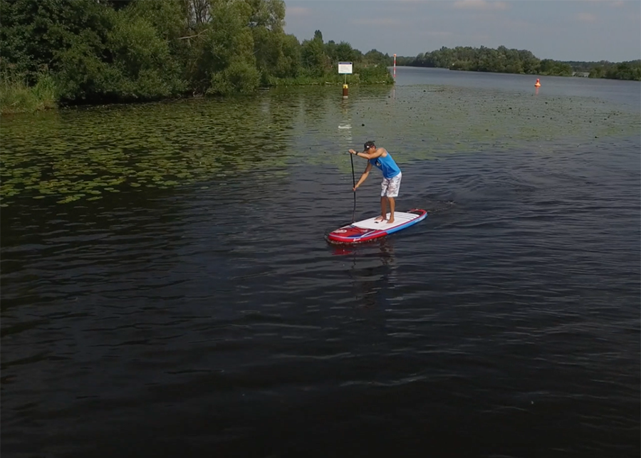 fanatic viper air wind sup sup board test superflavor gleiten-tv 21