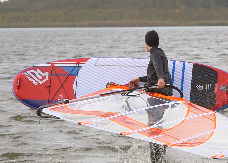 fanatic viper air wind sup sup board test superflavor gleiten-tv 22
