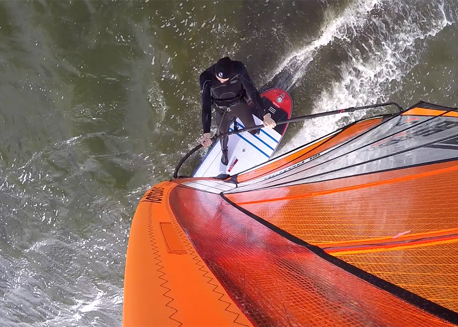 fanatic viper air wind sup sup board test superflavor gleiten-tv 24