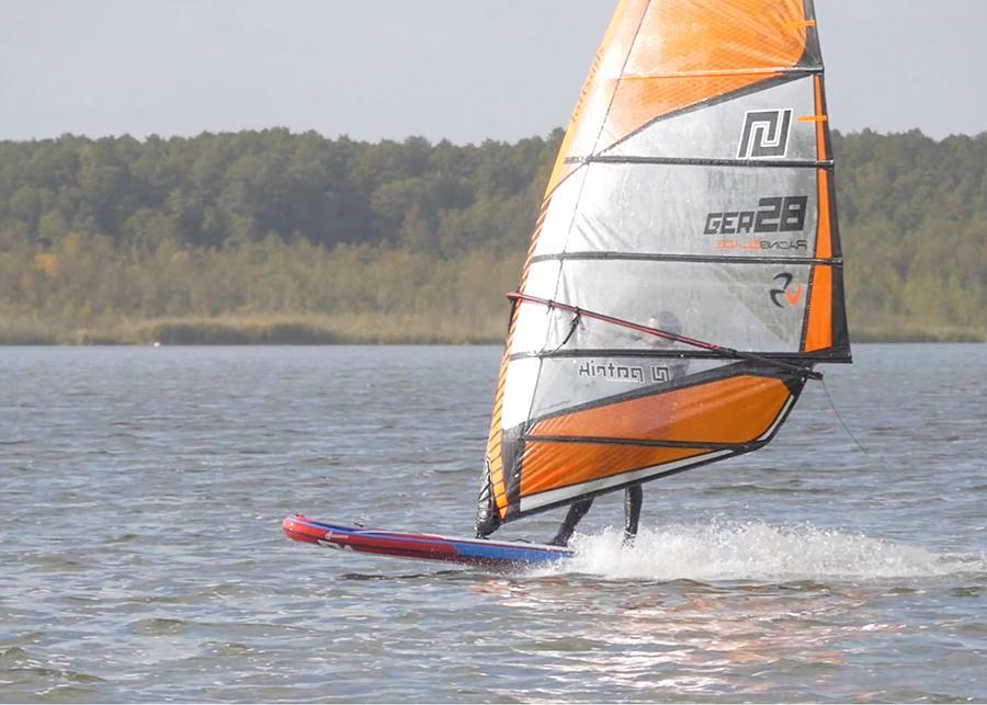 fanatic viper air wind sup sup board test superflavor gleiten-tv 26