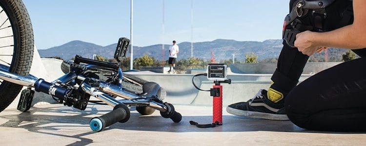 Action Battery Grip von JOBY für längere Akkulaufzeit von Action Cams
