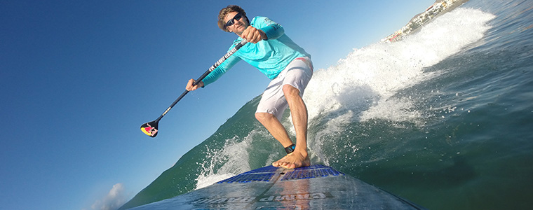 Dunkerbeck SUP Welle_Armin Watcler/Red Bull