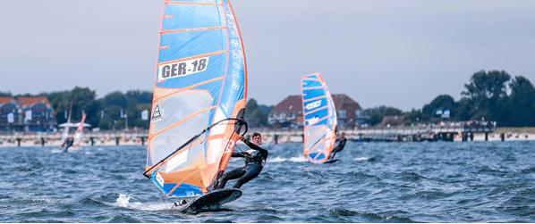 Ostseebad Schoenberg Tourstopp des Deutschen Windsurf Cups