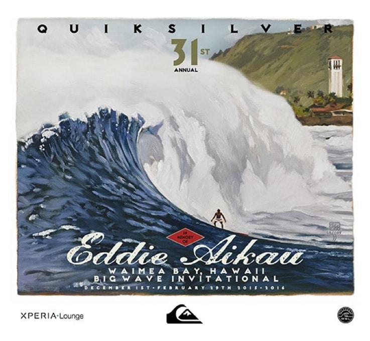 Quiksilver EDDIE AIKAU CONTEST 2015