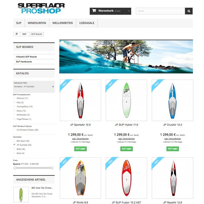 jp sup board superflavor proshop sup shop berlin