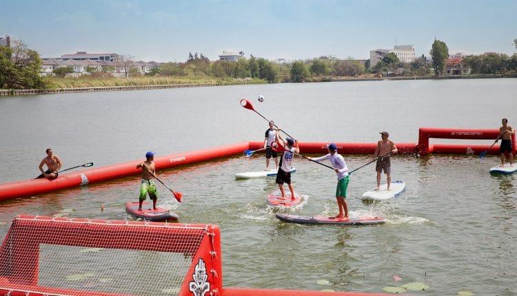 SUP Polo Turnier auf der Boot & Fun Berlin 2015