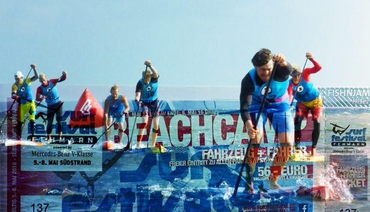 German SUP Challenge Fehmarn 2016 Beachcamp-Eventticket buchen!